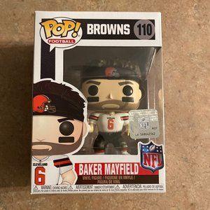 Baker Mayfield #110 Funko Pop Cleveland Browns NFL